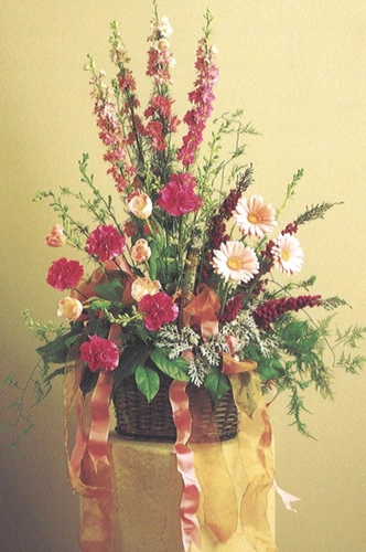 Sympathy Flowers with  Gerbera daisies