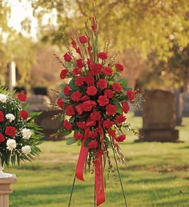 Flowers Delivery To Peaceful Rest Funeral Home - Designs East Florist Dallas