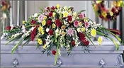 Blanket of Flowers ™ Casket Spray - Designs East Florist Dallas