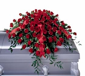 Dearly Departed™ Casket Spray - Designs East Florist Dallas