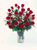 2 dozen red roses - Designs East Florist Dallas