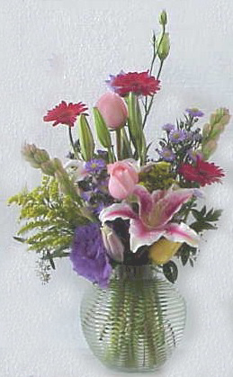 Mixed spring flowers Arrangement