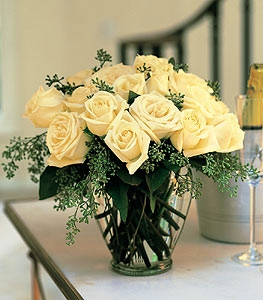 White Roses - By Designs East Florist Dallas