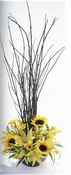 Burst of yellow - Designs East Florist Dallas