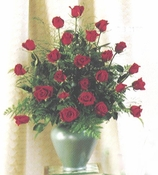 Classy  Red Roses - Designs East Florist Dallas