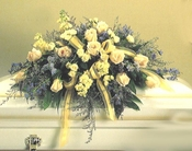 Funeral  Casket Flowers - Designs East Florist Dallas