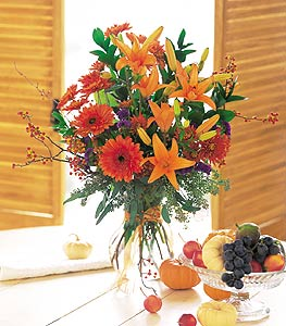 Fall Bouquet - Designs East Florist Dallas