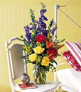Colorful Sensation - Designs East Florist Dallas