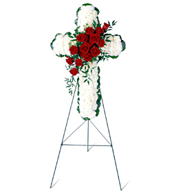 Floral Cross - Designs East Florist Dallas