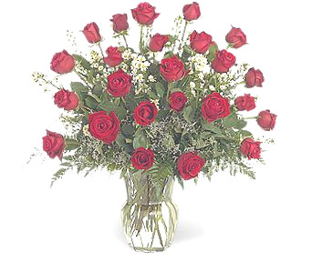 Double Dozen Roses - Designs East Florist Dallas