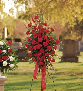 Flowers Delivery To Cavario Funeral Home - Designs East Florist Dallas