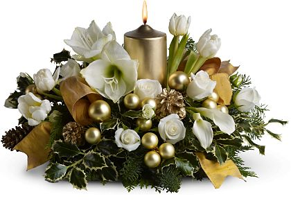 Golden Illuminations - Designs East Florist Dallas