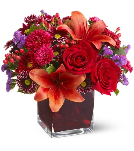 Autumn Grace Bouquet - Designs East Florist Dallas