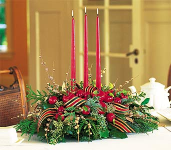 Luxury Christmas Centerpiece - Designs East Florist Dallas