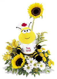 Bee Well Bouquet - Designs East Florist Dallas