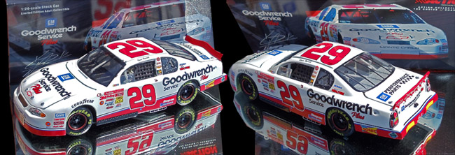 KEVIN HARVICK 2001 GOODWRENCH  ROOKIE CAR 1/24 ACTION