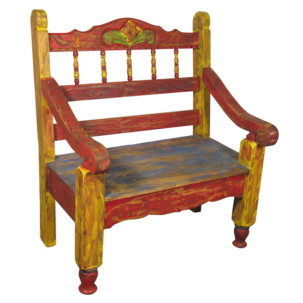 Fantastic Small Painted Wood Carved Spindle Bench Andrewgaddart Wooden Chair Designs For Living Room Andrewgaddartcom
