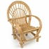 Natural Bent Twig Armchair Rustic Patio Furniture
