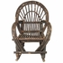 Rustic Twig Rocking Chair - With Bark