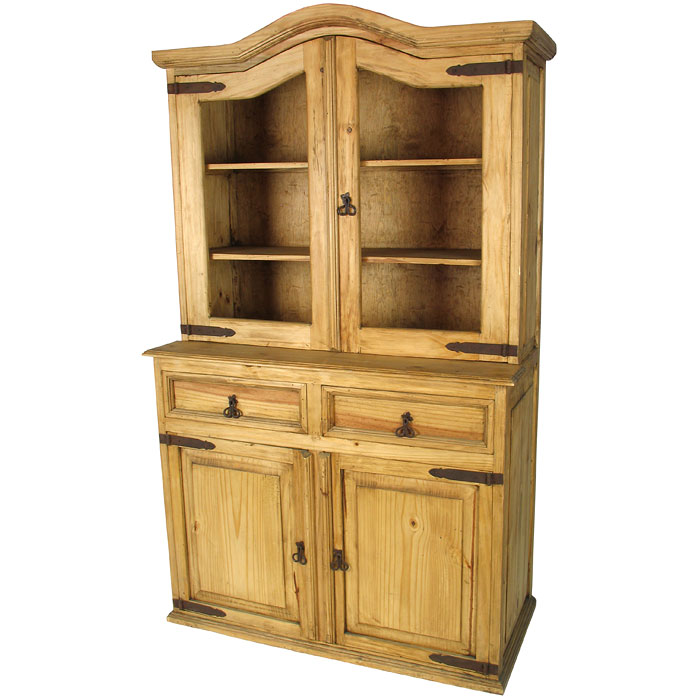 Domed Top Rustic Pine Cupboard Mexican Furniture