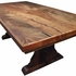 84 Inch Ranch Style Mesquite Dining Table
