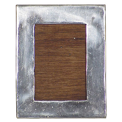 Rectangular Mexican Pewter Picture Frames