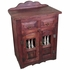 Small Painted Wood Buffet with Spindle Doors