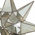 Antiqued Glass and Mirrors Hanging Star Light