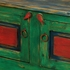 Mexican Painted Wood Hutch with Backsplash