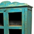 Mexican Painted Wood China Hutch