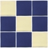 Talavera Tile - Blue - PP2011 - 15 Tiles