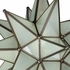 Mexican Frosted Glass Star Light 15