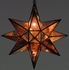 Large Mirrored Glass Star Fixture