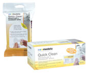 """Medla 87055 Quick Clean Breastpump & Accessory Wipes (24 Pack) """"In-Stock"""""""