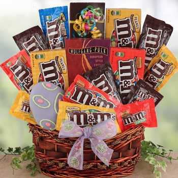 M&M's Easter Gift Basket