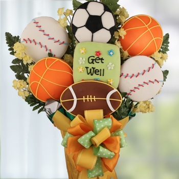 Get Back in the Game Cookie Bouquet - SOLD OUT