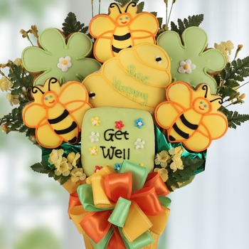 Bee Well Cookie Bouquet