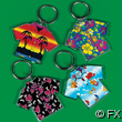Acrylic Tropical Shirt Key Chain