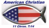 NEW! American Christian Business Card Magnets