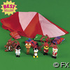 Mini Vinyl Holiday Character Paratrooper