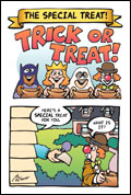 The Special Treat Cartoon Bible Tract