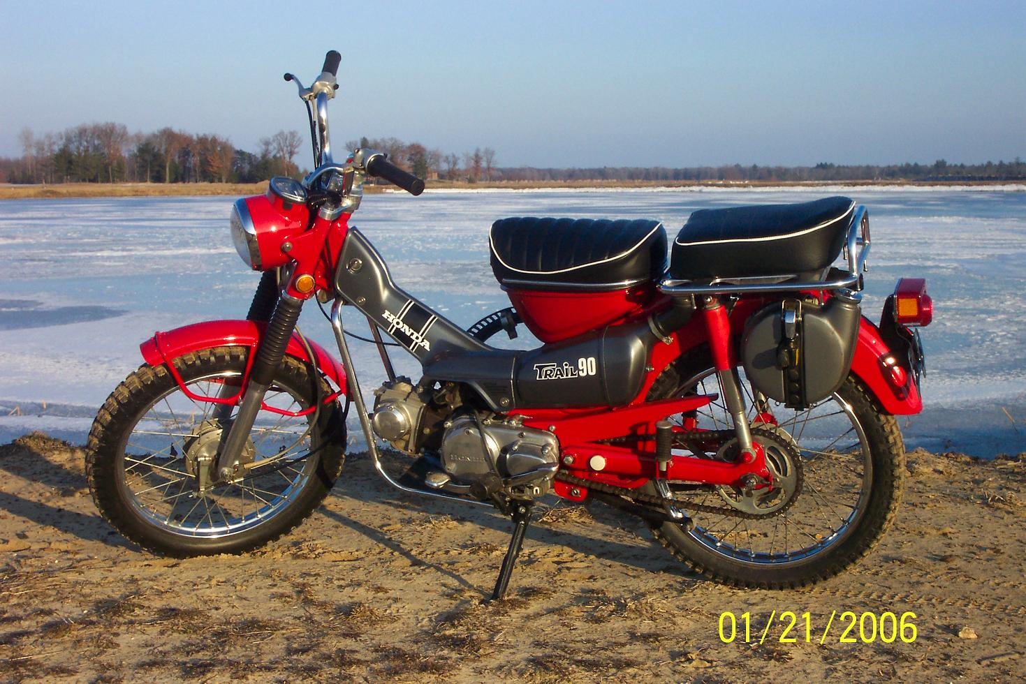 Click to enlarge CT90 CT110 Honda