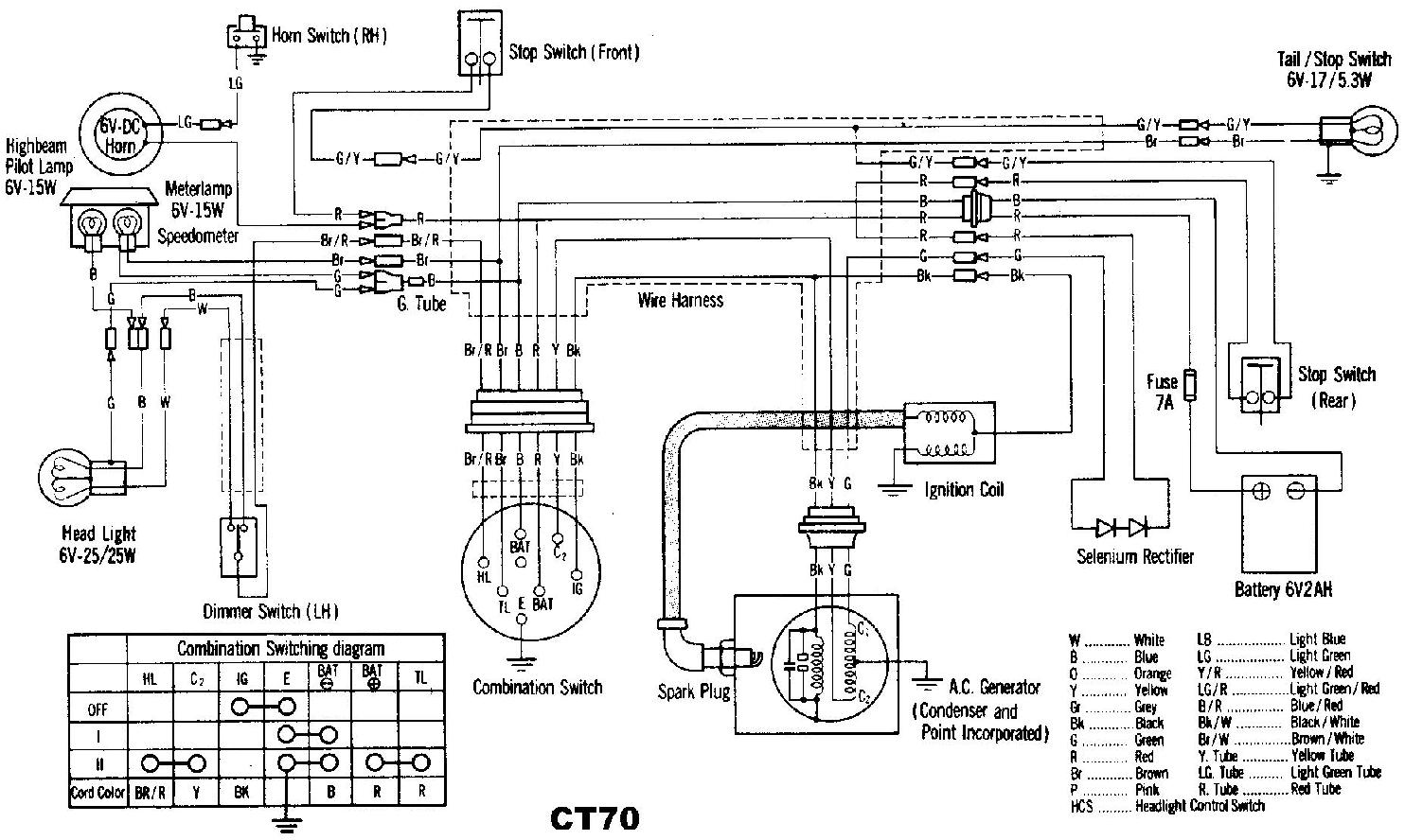cl70 wiring diagram