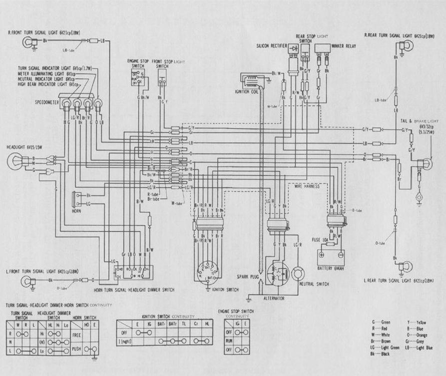 1977 Honda Ct70 Wiring Schematic - DIY Wiring Diagrams •