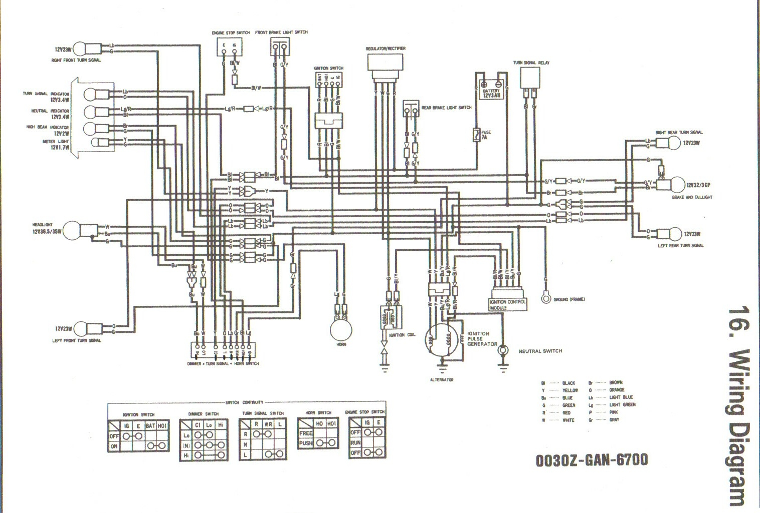Ct70 Wiring Diagram 1991 Diy Enthusiasts Diagrams 1970 Honda Headlight Thru 1994 Wire Rh Dratv Com Ct90 1980