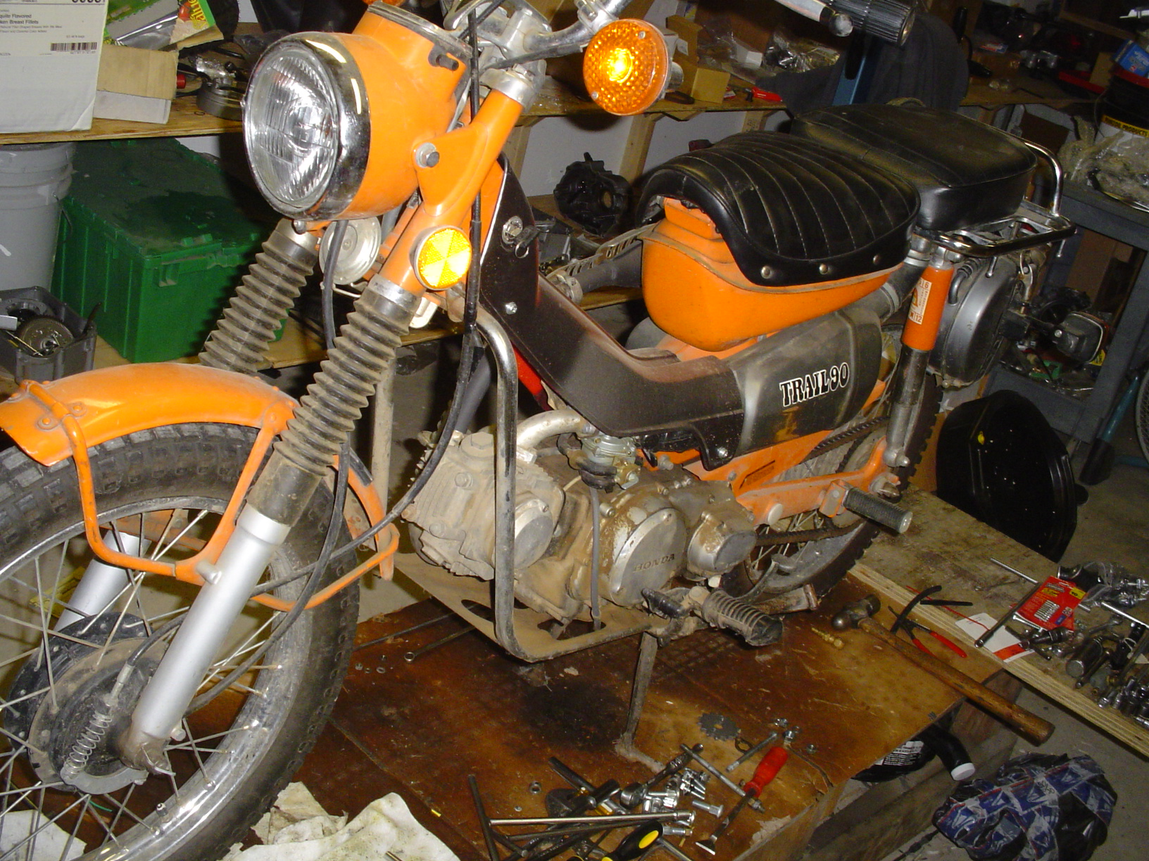 Honda Ct90 Lifan Swap Wiring Schematic Diagrams Diagram Engine Parts Needed Some Instructions 1970