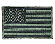Subdued U.S. Flag Patch