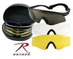 ANSI RATED INTERCHANGEABLE GOGGLE KIT - BLACK