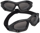 ANSI RATED TACTICAL GOGGLES - BLACK