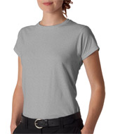 Gildan SoftStyle 64000L Womens Fashion Cut Ring spun cotton T-shirt